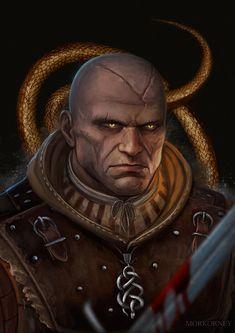The Witcher Game, The Witcher Books, Witcher Art, Fantasy Portraits, Fantasy Artwork, Fantasy Inspiration, Character Inspiration, Character Concept, Concept Art
