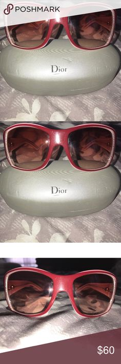 Christian Dior Sunglasses ❗️SALE❗️Dior sunglasses 💯 authentic!!!!! Missing a few stones but could easily be replaced is someone is crafty! Does not take away from how nice these sunglasses are! No scratches! Dior Accessories Sunglasses