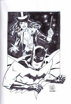 Batman and Zatanna by Cliff Chiang