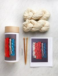 Learn To Knit Kit Knitting Supplies, Knitting Kits, Bamboo Knitting Needles, Purl Bee, Purl Soho, Vogue Knitting, Seed Stitch, Garter Stitch, Knitting For Beginners