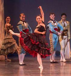 "Nutnaree Pipit-Suksun performs as Mercedes in ""Don Quixote."" Photo by Robert Shomler."