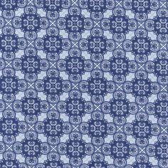 2802 - Azulejo Coimbra - Tecidos Fabricart
