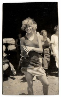 A gal from the 1920's.  I wish I could tell her that people all over the world were seeing her picture.  I think she would smile.