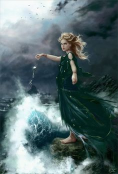 """""""No longer will you bind me. For now I rule these waves and you will suffer your transgressions."""" ~Lorelei~™"""
