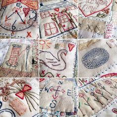 """This is an upcoming social andinteractive embroidery and patchwork project that I have been developing since 2015 the main focus being """"creating friendships through stitch"""" and our mutual love of making things with our hands This Kit will be launched at my shop on August the 12th 2017 I will host a summer OPEN day on this day and you are all invited between 11-5 Here at 158a Columbia Rd London E2 7 RG During this day I will be showcasing in my shop wi..."""