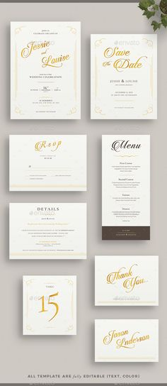 Wedding Invitation | Template, Weddings and Print templates