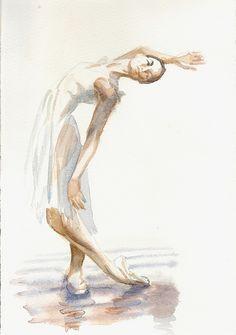 ballet sketches | ballet dancer sketch #3 | Flickr - Photo Sharing!