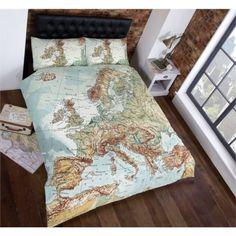 http://www.tesco.com/direct/rapport-urban-unique-vintage-maps-quilt-set-single/181-2296.prd?skuId=181-2296 Duvet vintage map 14