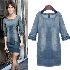 Adorable denim dress