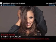 """Nitecap host Josh Rimer talks with Trish Stratus about her upcoming yoga DVD she co-produced with former Toronto Blue Jays great Joe Carter called """"Stratusphere Yoga  For Men""""    Buy now: http://www.trishstratus.com/shop/dvds    To see more of Josh Rimer's Nitecap, visit http://nssradiotv.com/ and NSS 