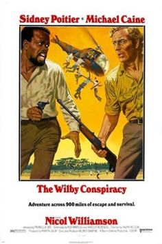 SIDNEY POITIER MICHAEL CAINE the wilby conspiracy CLASSIC movie poster 24X36