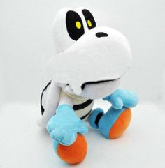 "Amazon.com: Super Mario 10"" Dry Bone Plush: Toys & Games"