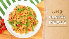 3 EASY Pantry Meals | Dinner Made Easy