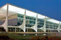 Palácio do Planalto, sede do Governo Federal.