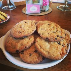 Crunchy chunky delicious triple choc chip cookies