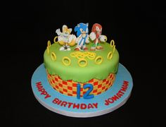 Another cool Sonic cake.
