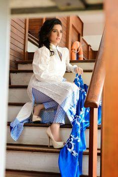 Ayesha Somaya Lawn 2014 behind the scenes