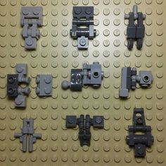 Some LEGO connections i use. #lego #legomocs #snot #mech