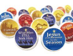 Christmas Christian Faith Stickers (Set of 324)