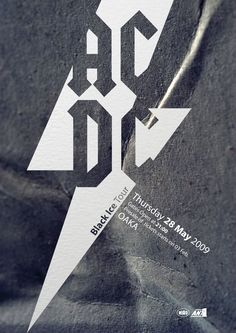 ACDC poster - College Project