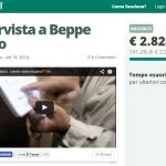 #beppevaidaluca, che gli ascoltatori pagano l'intervista