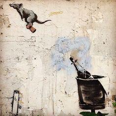 Banksy in Paris, 2018
