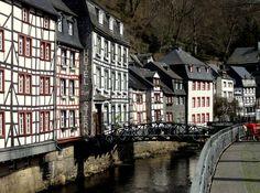Lovely Monschau village.
