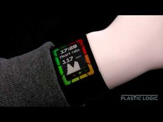 Super thin prototype e-ink smartwatch could be an iWatch preview