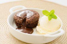 Strawberry Crumble: Fondant de Chocolate