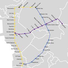 El Metro de Manila, es el ferrocarril metropolitano que sirve al área metropolitana de Gran Manila, la zona más poblada de Filipinas y una de las más densamente pobladas del mundo.    Se compone de tres líneas: dos de ellas de tren ligero que circula en superficie (LRT), y una de metro propiamente dicha o MRT, popularmente conocido como Metrostar o Línea Azul. La Línea Azul es operada por la Corporación de Tránsito del Metro...