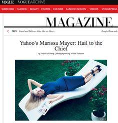Quem vê esta imagem aí, produção da revista de moda Vogue, pode até pensar que se trata de uma modelo. Mas é uma engenheira da computação que tem um pé no mundo fashion e desafia o estereótipo do que é ser nerd. Ou CEO. http://wp.clicrbs.com.br/vanessanunes/2013/08/28/contra-estereotipos/?topo=13,1,1,,,13#.Uh6JH2T57K4