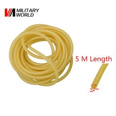 New Sport Military Natural Latex Tube Slingshot 2mmx4mm Hunting Sling Shot Catapults Slings Rubber Replacement Band Tool