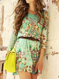 Floral Prints For Ladies And Use Full Outfit For Summer