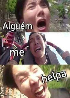Resultado de imagem para uniq memes e portugues Bts Meme Faces, Bts Memes, Funny Memes, Memes Humor, Namjin, Jikook, K Pop, Bts Bangtan Boy, Jhope
