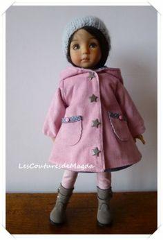 Outfit Doll Tenue DE Poupée Little Darling Effner Handemade Magda | eBay