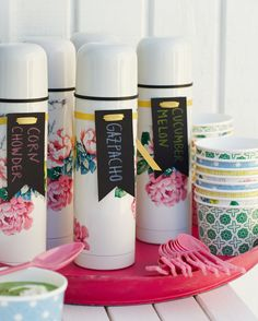Up your thermos game with these floral beauties from Poppytalk for Target. Launching in stores and online on June 22.