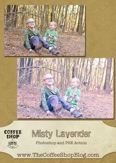 Misty lavender - Free CoffeeShop Actions