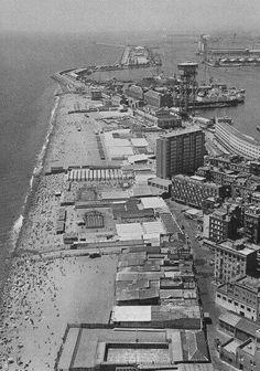 Barcelona, la Barcaloneta 1960.