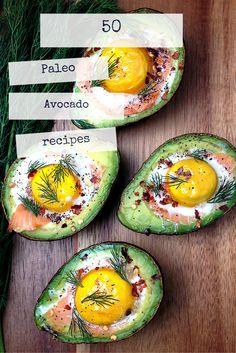 50 Paleo Avocado recipes // AGirlWorthSaving.net
