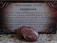 Hedgehog Animal, Power Animal, Natural Curiosities, Kraft Gift Boxes, Spiritual Meditation, Spiritual Jewelry, Animal Totems, Spirit Animal, Hand Carved