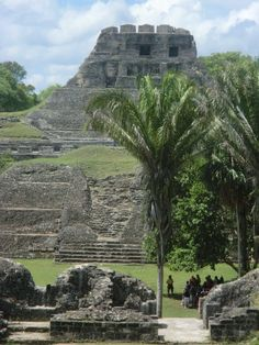 Xunantunich Mayan ruins, Belize - There is evidence of Xunantunich being settled as early as the ceramic phase of the Preclassic Period.