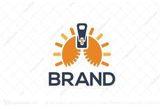 Logo for sale: Sun Zip Logo by SimplePixel, uploaded on Logo design of a sun split in two by a zipper. Logo Design, Branding, Sun, Logos, Brand Management, Logo, Identity Branding, Solar