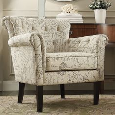 revamp your favorite room with this elegant homevance tufted club chair