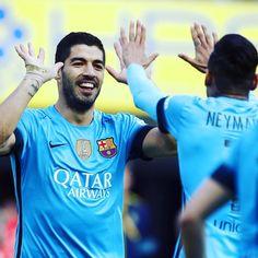 """[NEXT MATCH] ⚽️ @Arsenal @FCBarcelona  @ChampionsLeague ✈️ Emirates Stadium  23/02 ⌚️ 20:45 CET  #AFCvFCB  Força Barça! @luissuarez9 @neymarjr…"""