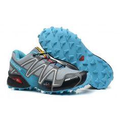 salomon speedcross 3 cs blau gelb 07