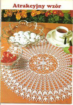 Crochet Knitting Handicraft: napkins new 1