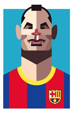 Playmaker: Soccer Illustrated Portraits