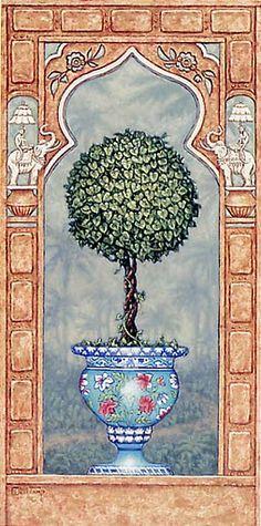 Temple Topiary II (Janet Kruskamp)