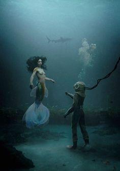 z- Mermaid & Diver