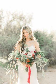 Marsala Princess Bridal Inspiration - beautiful bouquet